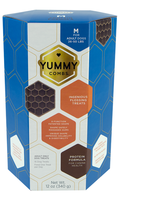 Yummy Combs | Flossing Dental Treat Medium