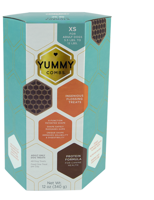 Yummy Combs | Flossing Dental Treat X-Small