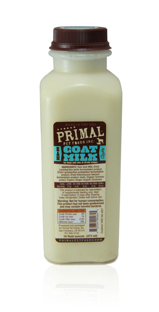 Primal | Frozen Raw Goats Milk