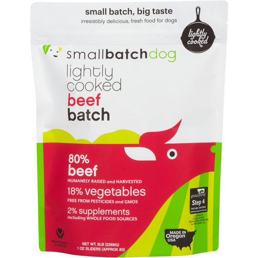 Small Batch | Lightly Cooked Beef Batch (frozen)
