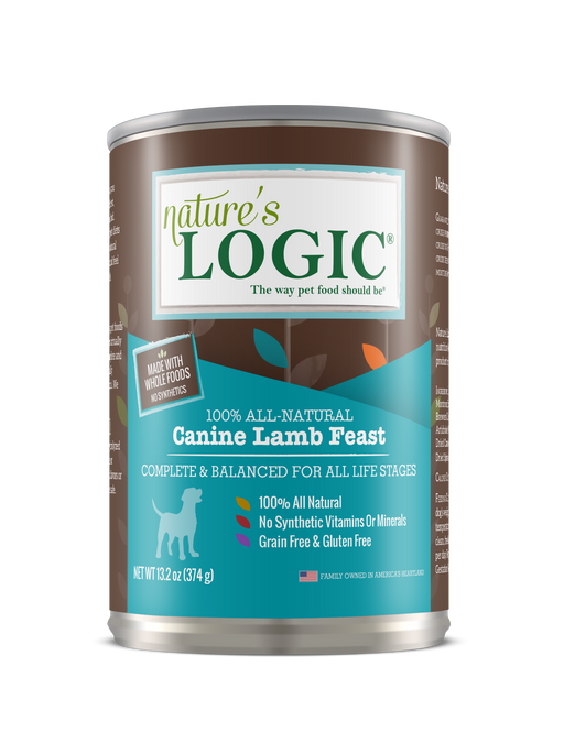 Nature's Logic | Lamb Feast Canned Dog Food 13.2 oz