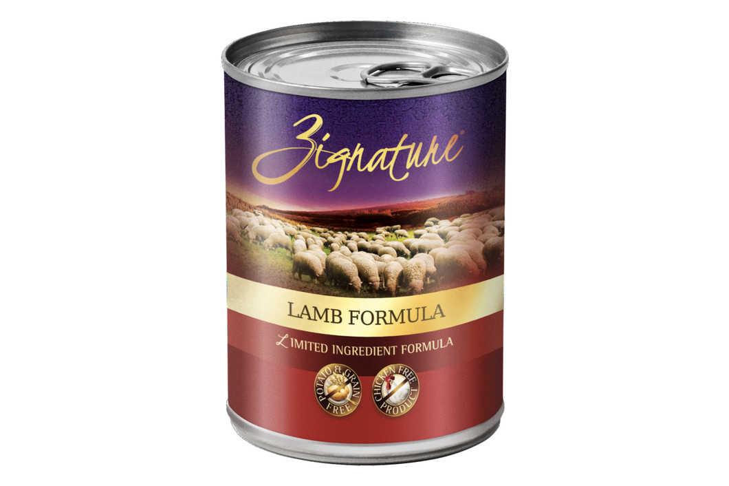 Zignature | Lamb Formula Canned Dog Food 13 oz