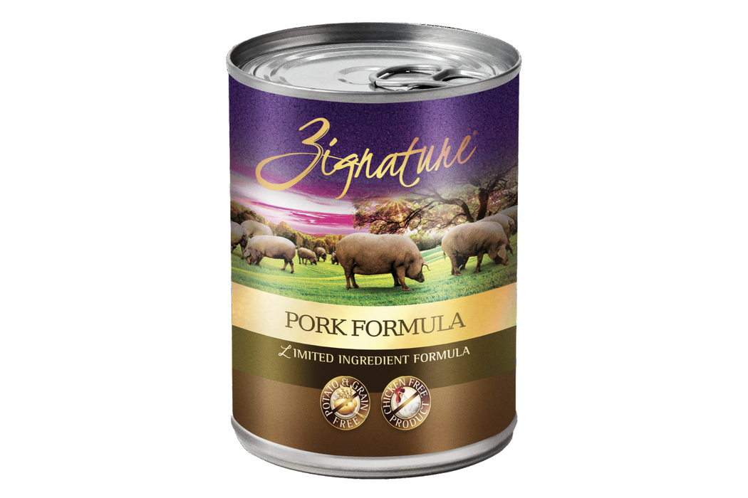 Zignature | Pork Formula Canned Dog Food 13 oz