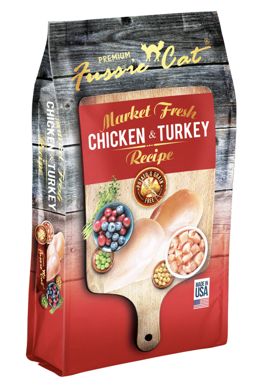 Fussie Cat | Chicken & Turkey Grain-Free Dry Cat Food