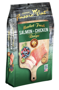 Fussie Cat | Salmon & Chicken Grain-Free Dry Cat Food