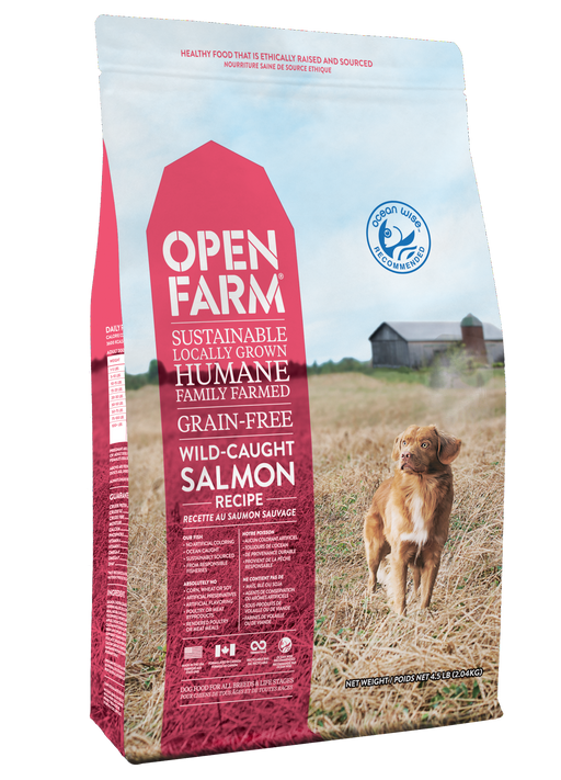 Open Farm | Wild-Caught Salmon Grain-Free Dog Food