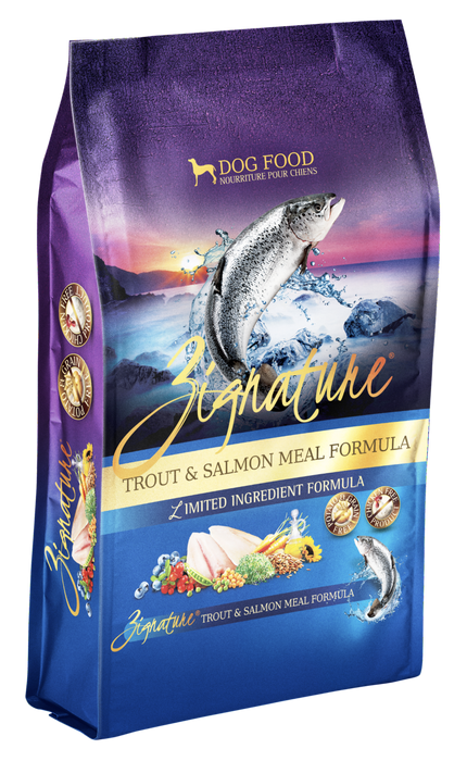 Zignature | Trout & Salmon Grain-Free Dry Dog Food