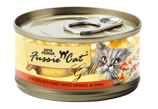 Fussie Cat | Chicken with Sweet Potato Canned Cat Food 2.8 oz