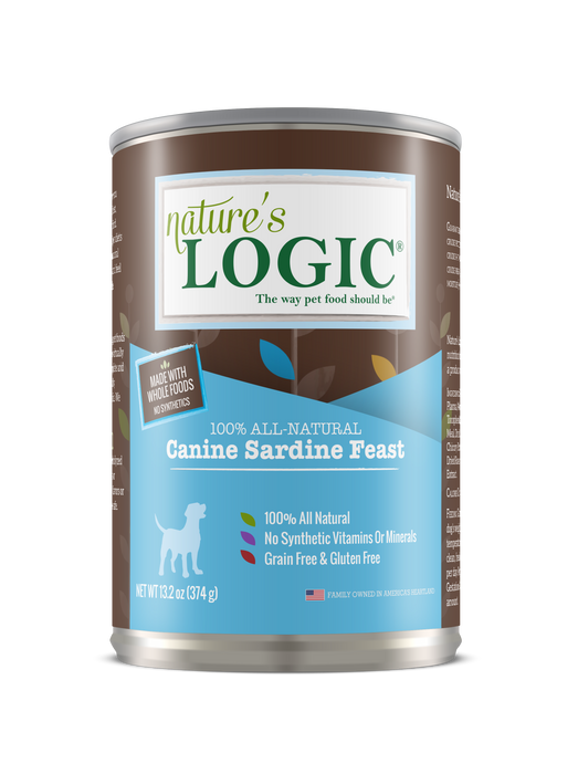 Nature's Logic | Sardine Feast Canned Dog Food 13.2 oz