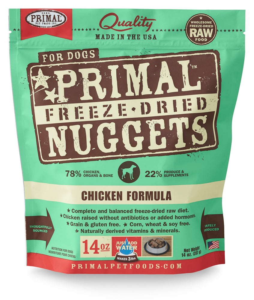 Primal | Chicken Freeze-Dried Dog Food 14 oz