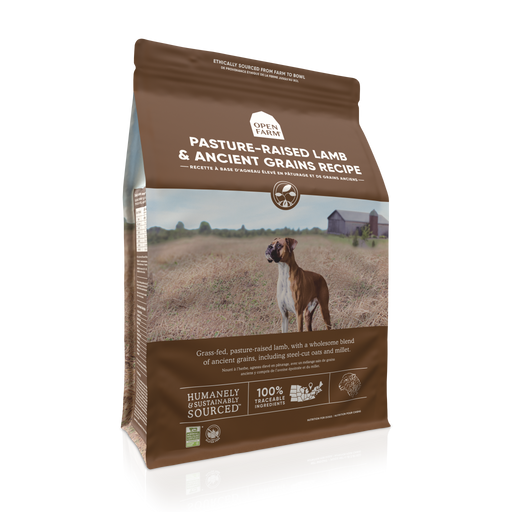 Open Farm | Pasture-raised Lamb Ancient Grain Dog Food