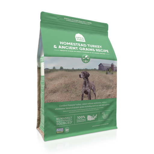 Open Farm | Homestead Turkey Ancient Grain Dog Food