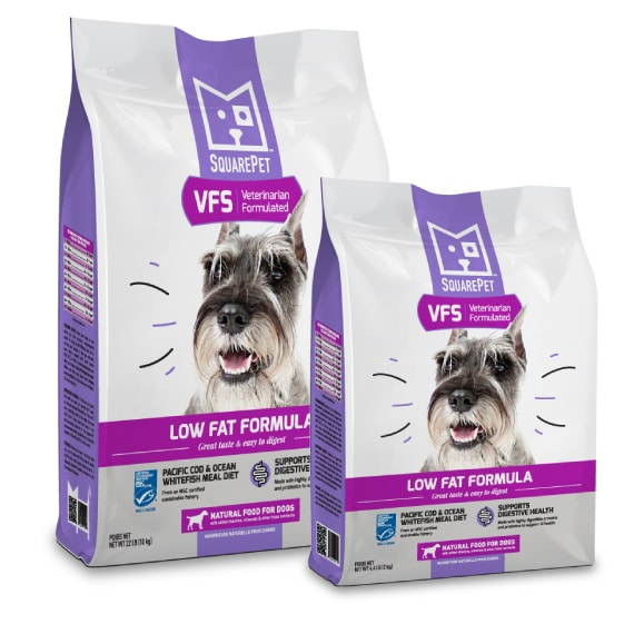 Square Pet | Vet Formulated Low Fat Recipe