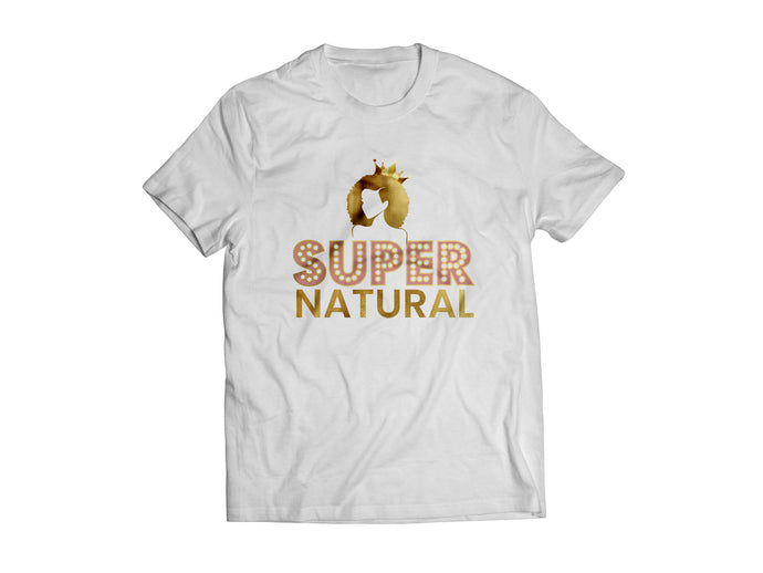 SUPER NATURAL TEE - WHITE