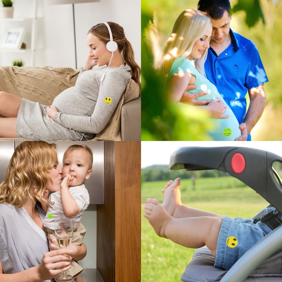 Natural Mosquito Repellent Stickers