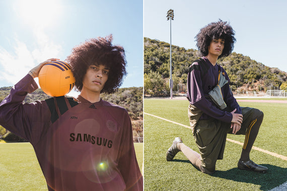 Kith x adidas Soccer Los Angeles Rays Lookbook