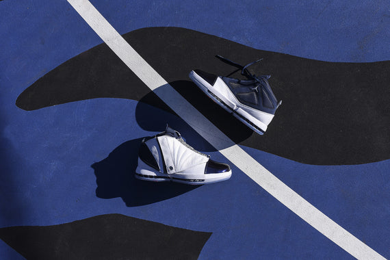 Nike Air Jordan 16 Retro - White / Midnight Navy