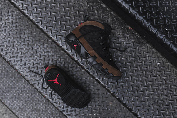 Nike Air Jordan 9 NRG Boot - Black / Olive