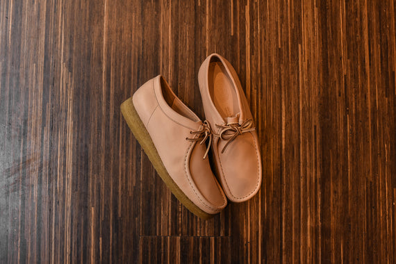 Clarks Wallabee Low - Vachetta Tan