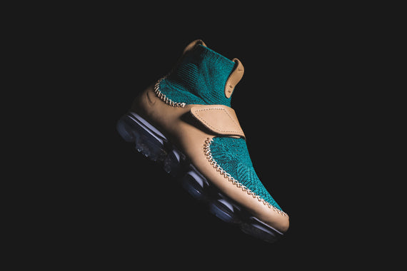 NikeLab x Marc Newson Air VaporMax - Vachetta Tan / Rio Teal / Black