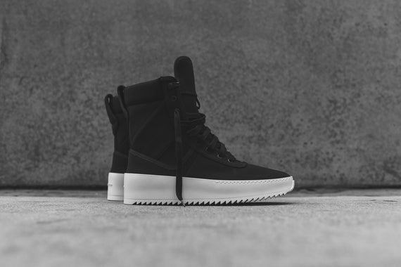 Fear of God Military Sneaker - Black Nylon