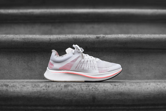 NikeLab Zoom Fly SP - White / Sail / Crimson