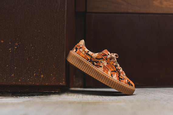 Puma x Rihanna WMNS Creeper - Orange Camo
