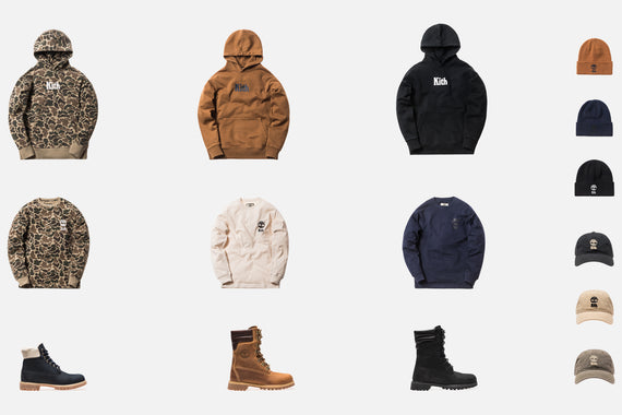 A Closer Look at the Kith x Timberland Collection