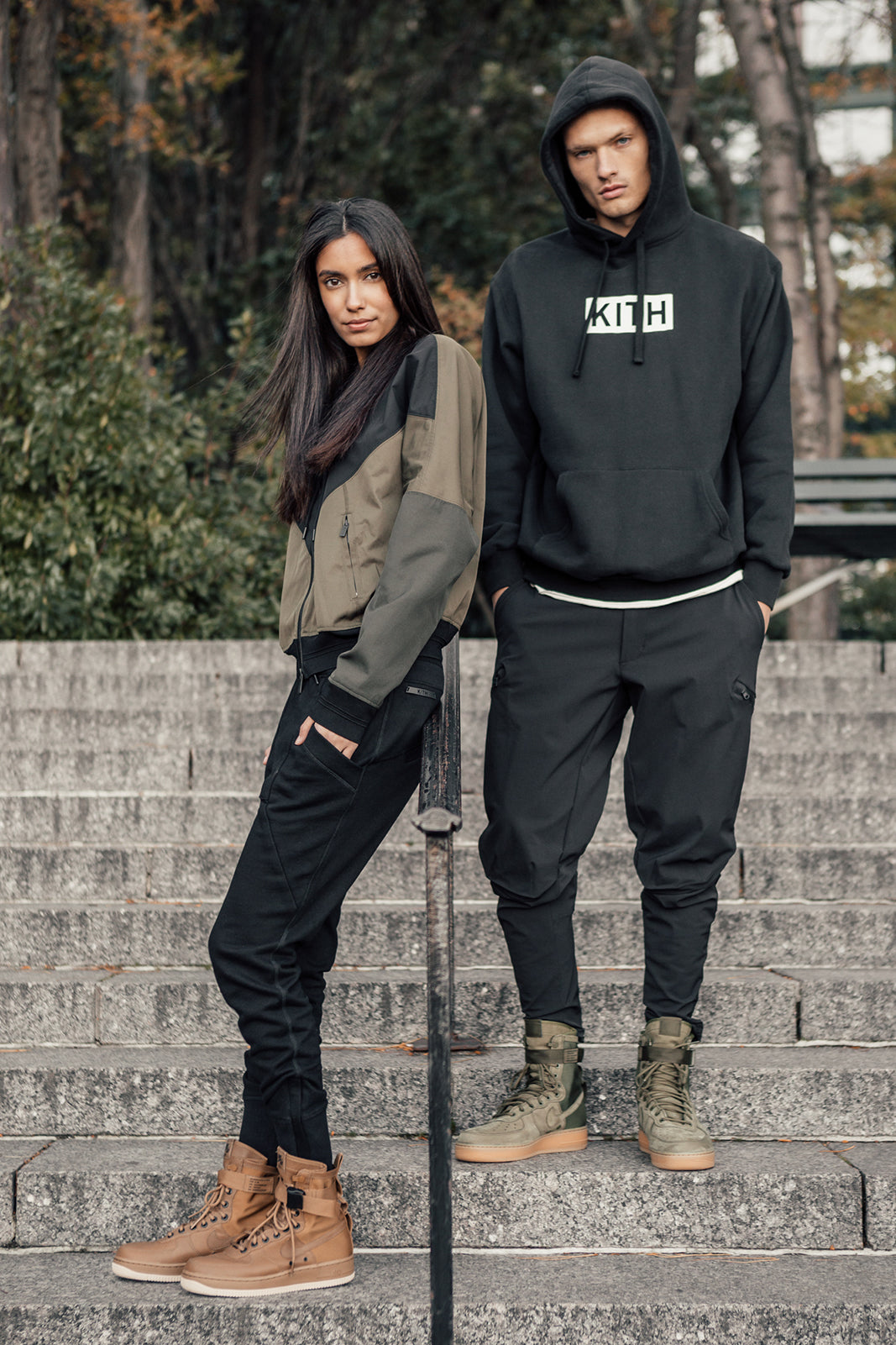 buy online 273a6 d021a Kith Editorial for the Nike SF-AF1