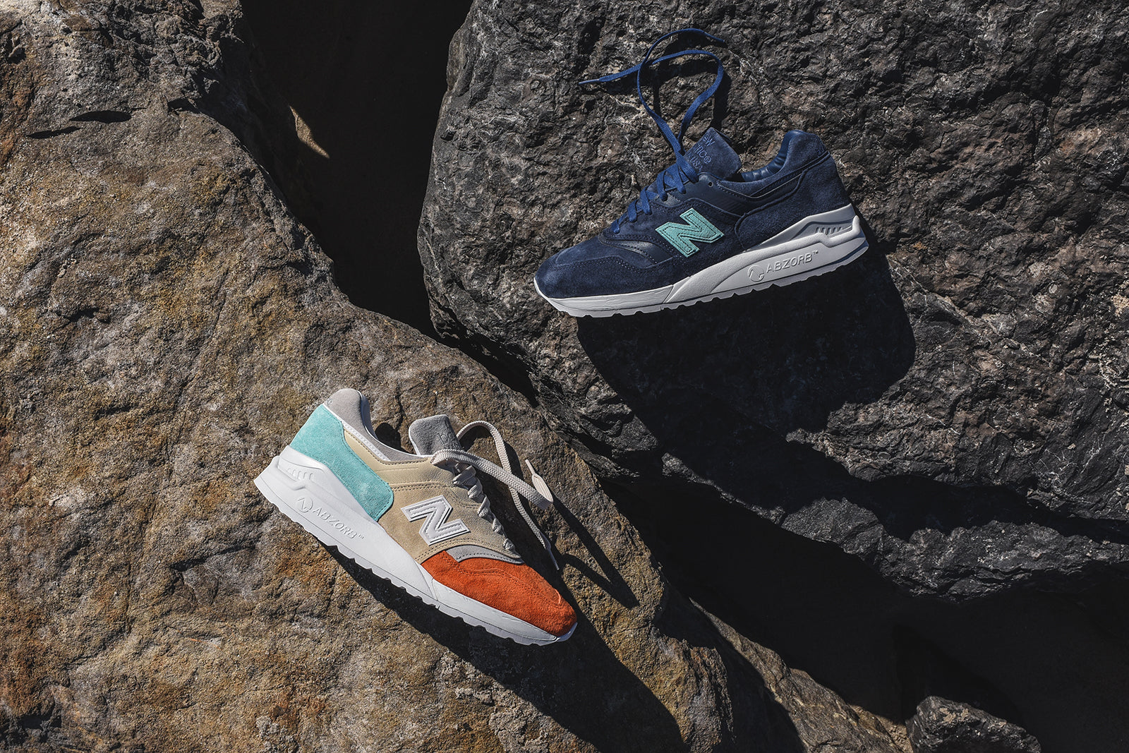 free shipping 21fc1 7aaaa Ronnie Fieg x New Balance Mykonos 997.5 Collection – Kith