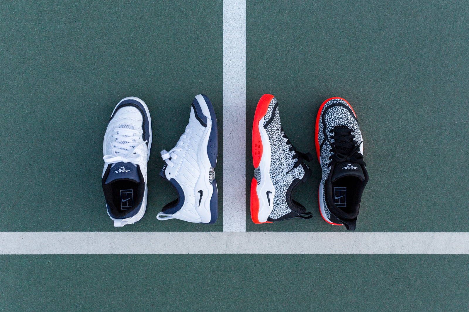 Fértil sopa cable  Nike Air Oscillate QS & Air Tech Challenge III Collection – Kith
