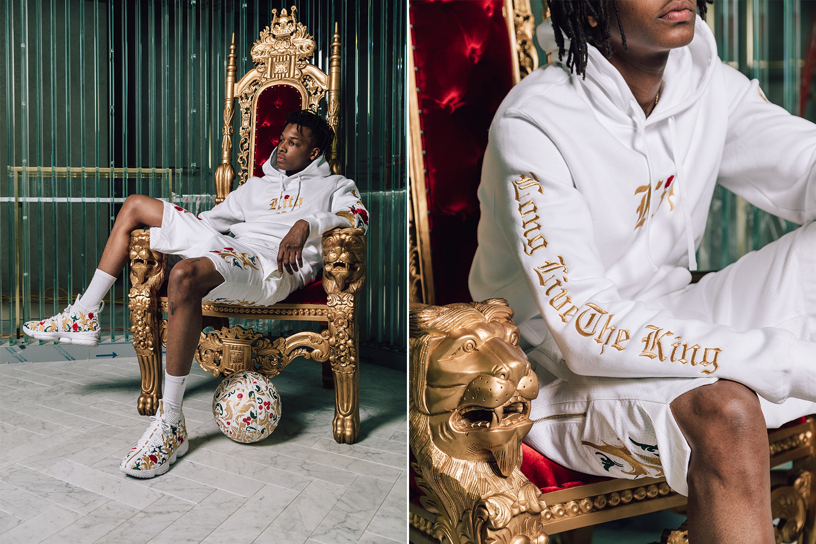 low priced a8ef9 4d2c6 Kith x Nike Long Live the King, Chapter 2 Lookbook