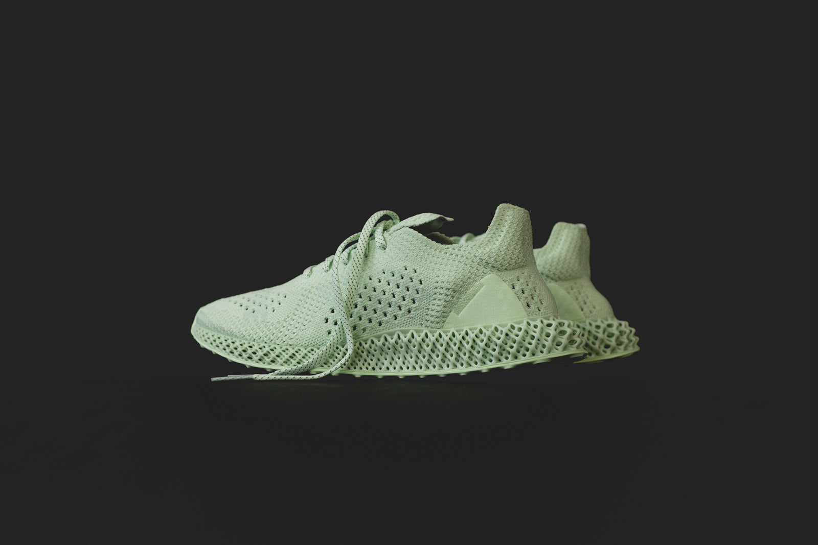 official photos 1dc1b a3249 Daniel Arsham x adidas Future Runner 4D - Kith Exclusive Launch