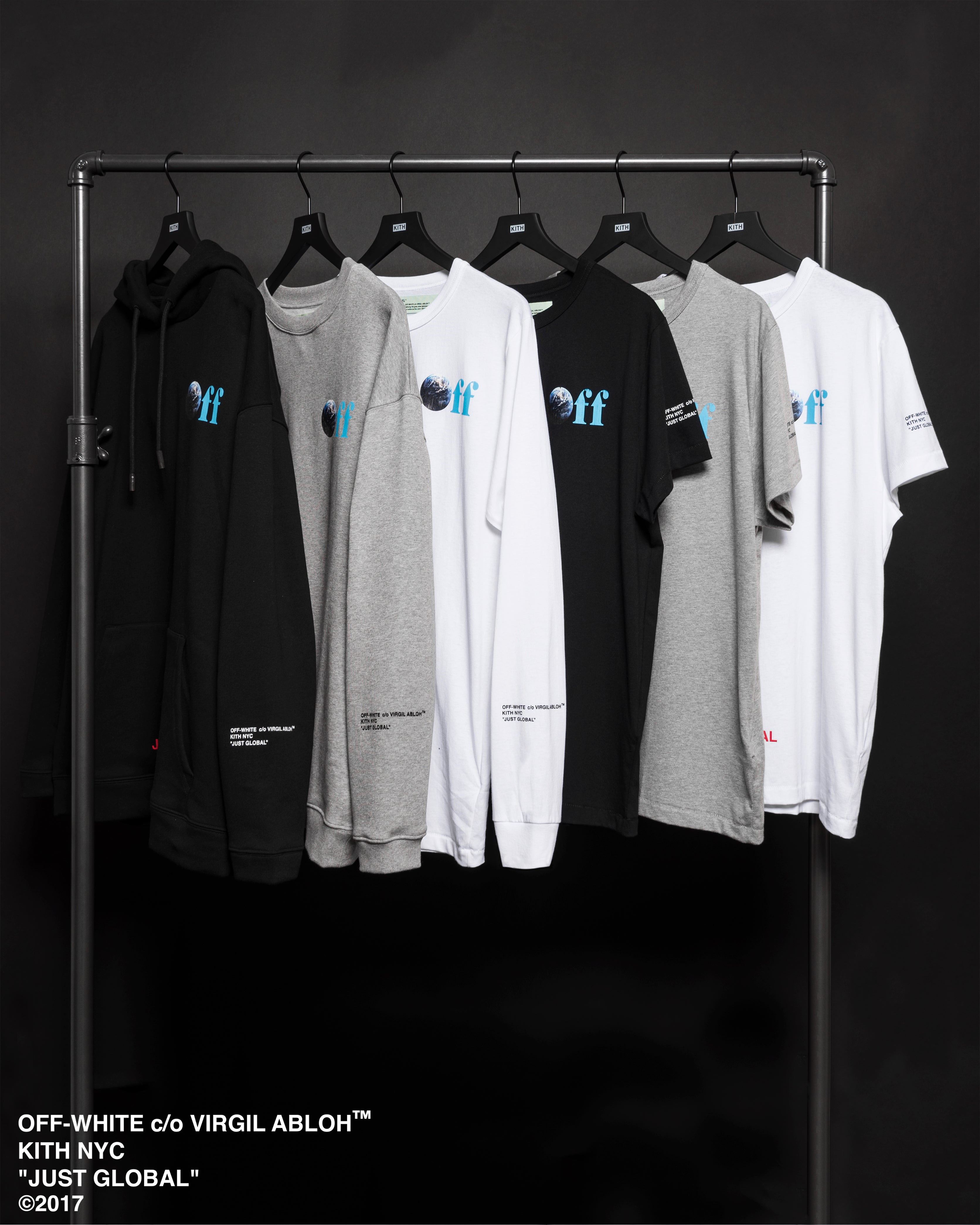 3e374419019b Kith x Off-White JUST GLOBAL