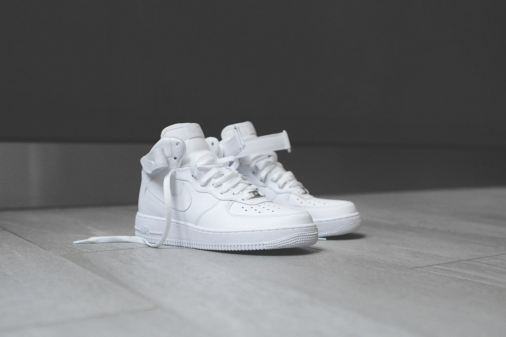 new style 60941 07a78 Nike Air Force 1 Low, Mid & High - White – Kith