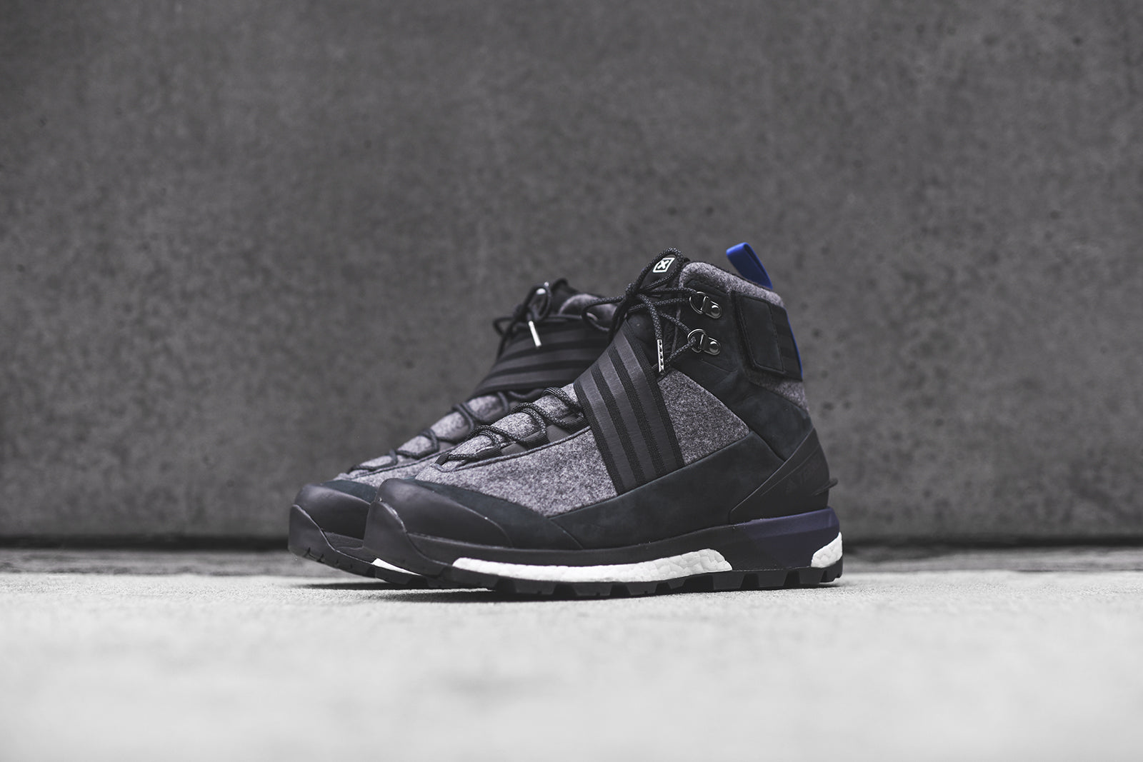 good texture hot products large discount adidas Consortium Xhibition Terrex Tracefinder - Black – Kith