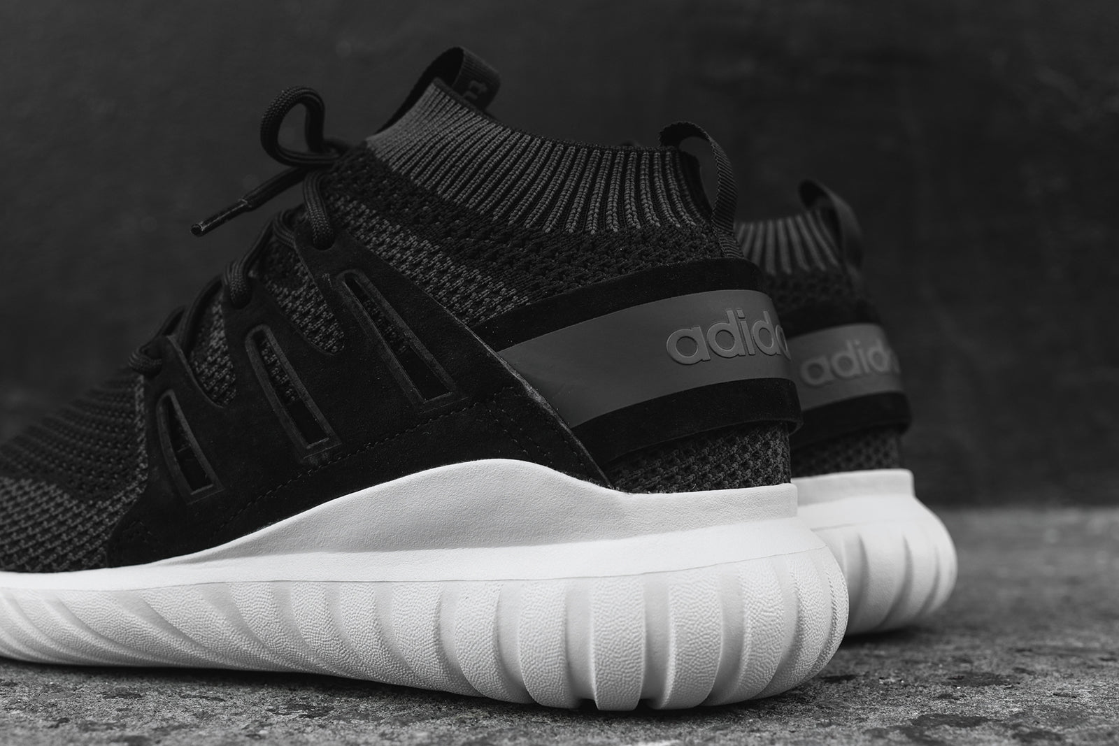 newest collection 1c0f0 46690 adidas Tubular Nova Primeknit - Black / White – Kith