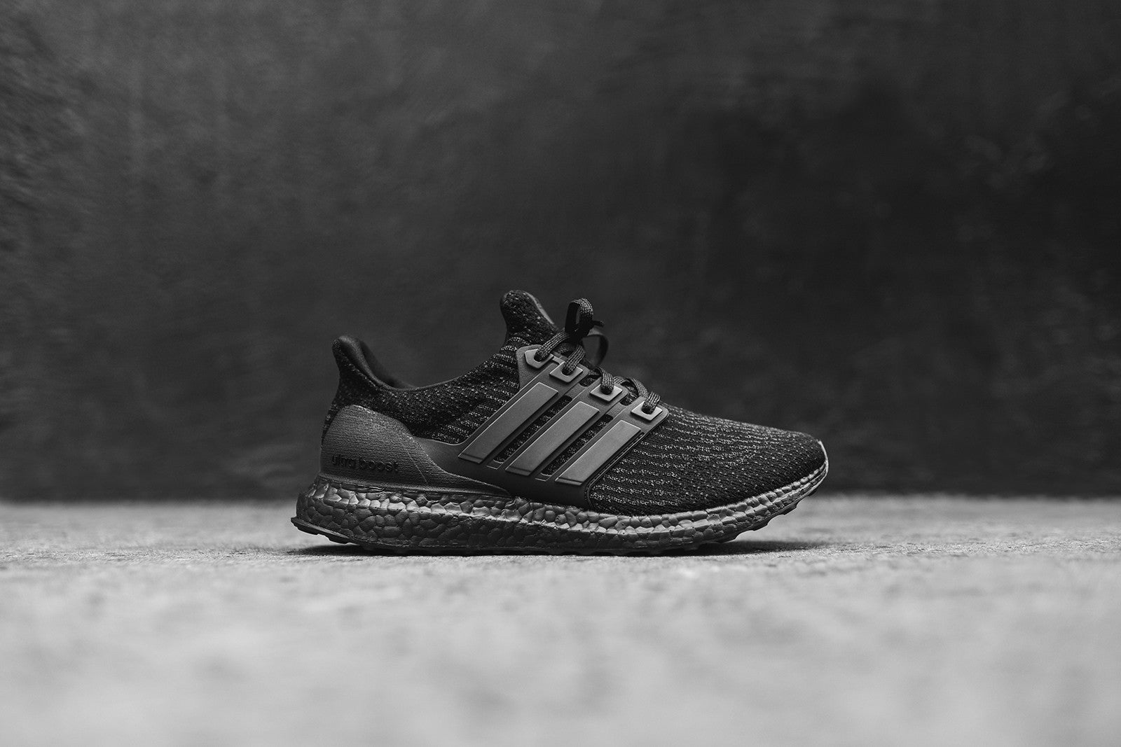 adidas UltraBoost 3.0 Triple Black – Kith