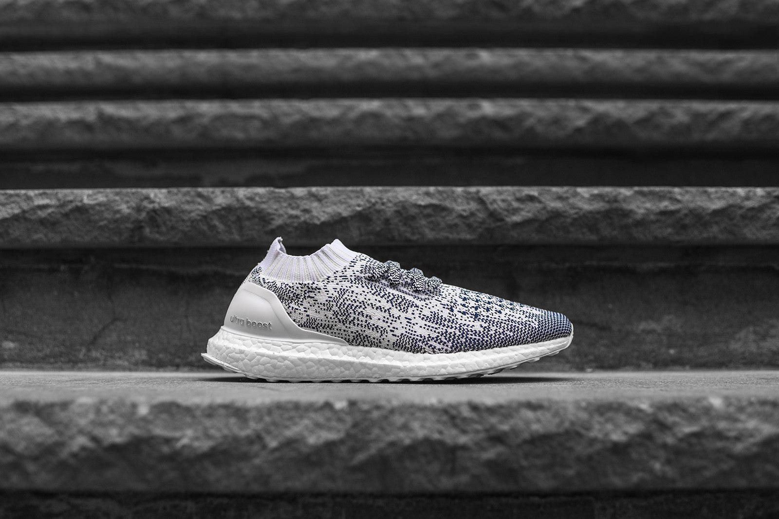 adidas UltraBoost Uncaged White Navy – Kith