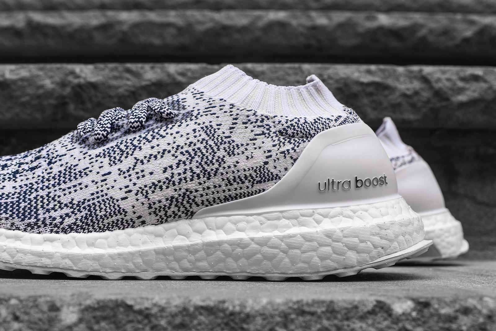 best service d54e4 02ab7 adidas UltraBoost Uncaged - White / Navy – Kith