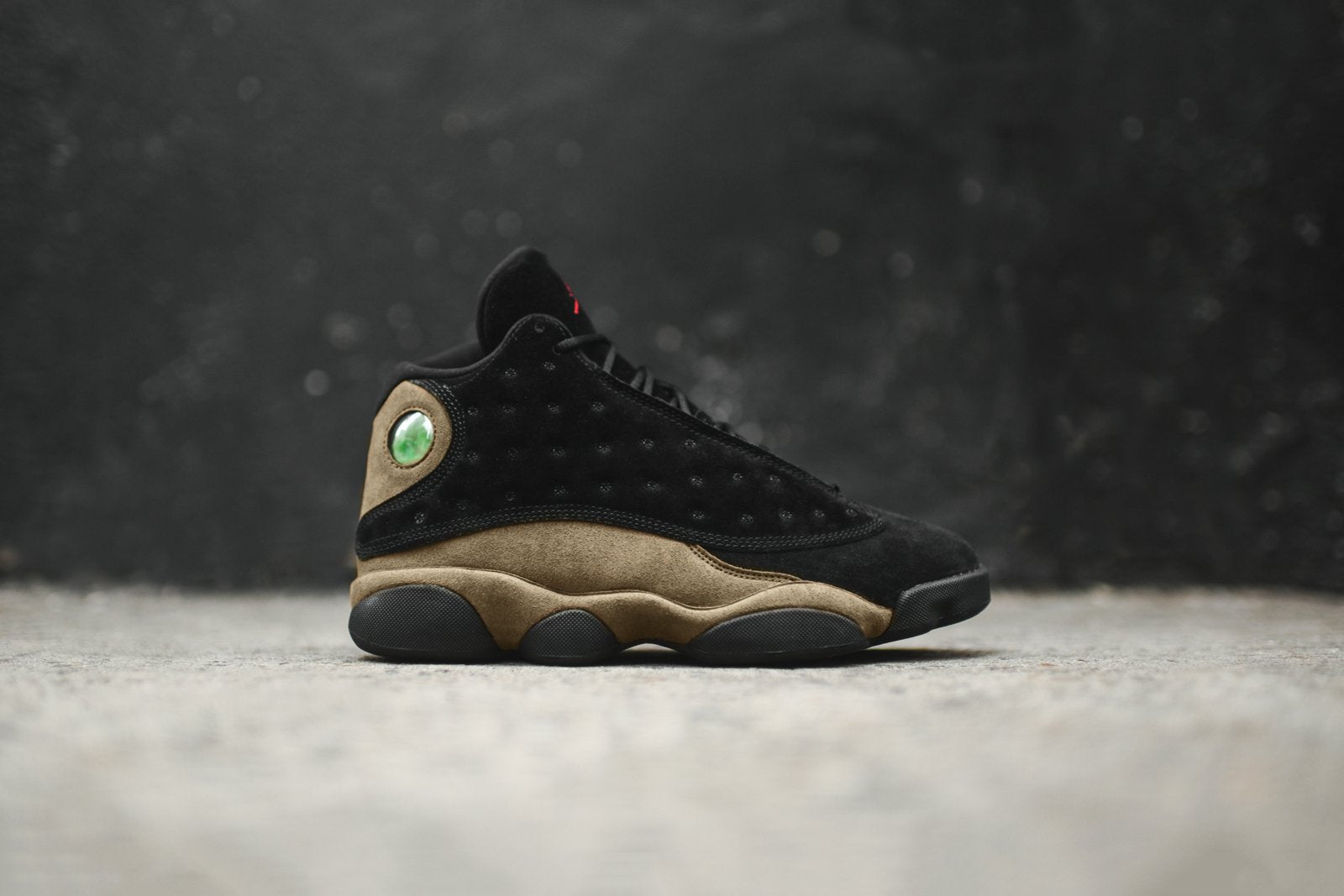 1ccea56f4b1737 Nike Air Jordan 13 Retro - Black   Olive. January 20