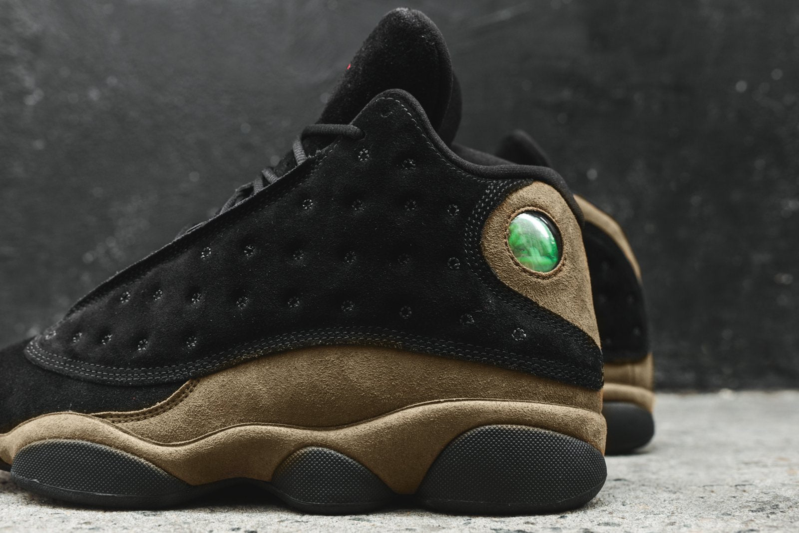 buy online fc87f 98884 Nike Air Jordan 13 Retro - Black / Olive – Kith