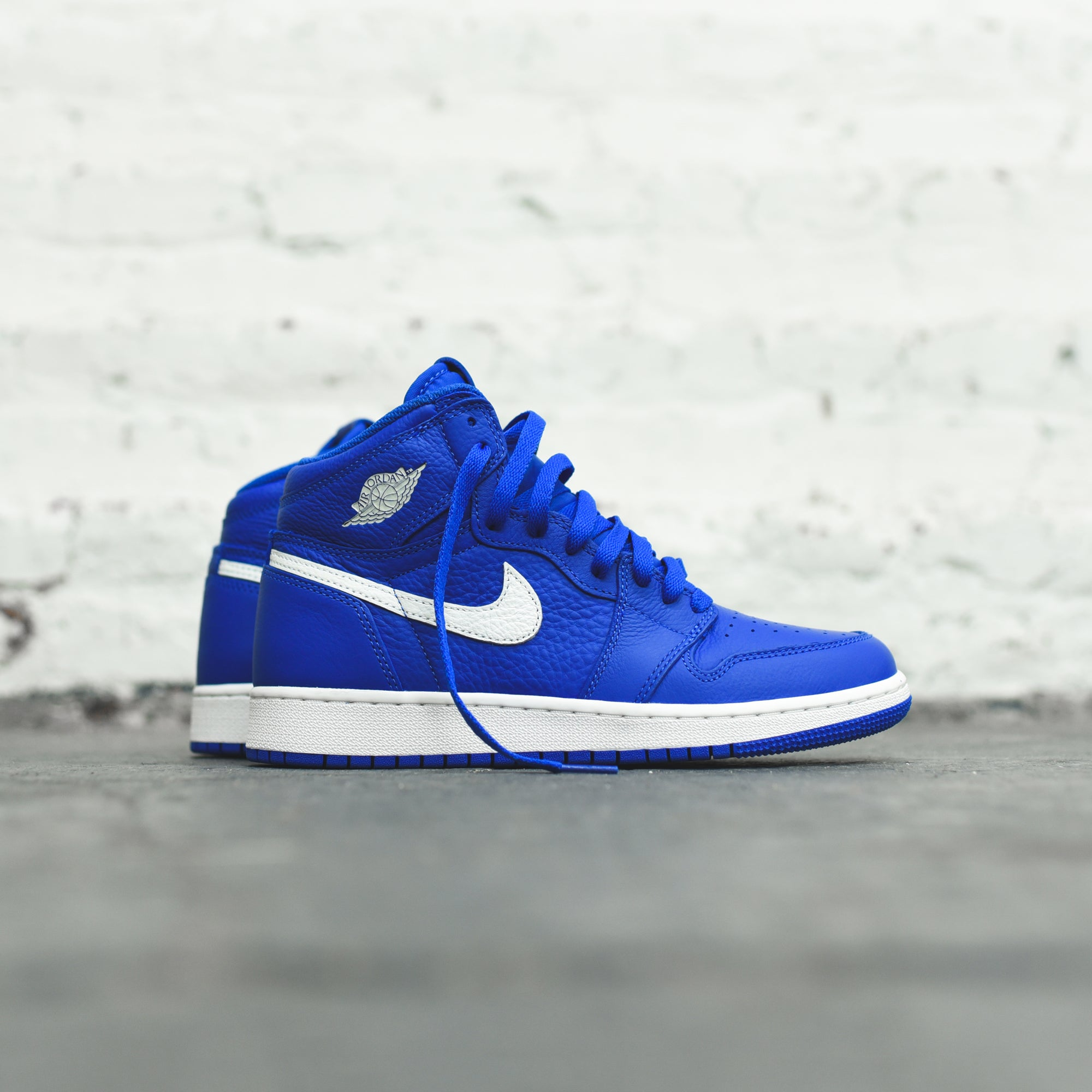 efb570f3947689 Nike GS Air Jordan 1 - Hyper Royal   Sail. July 07