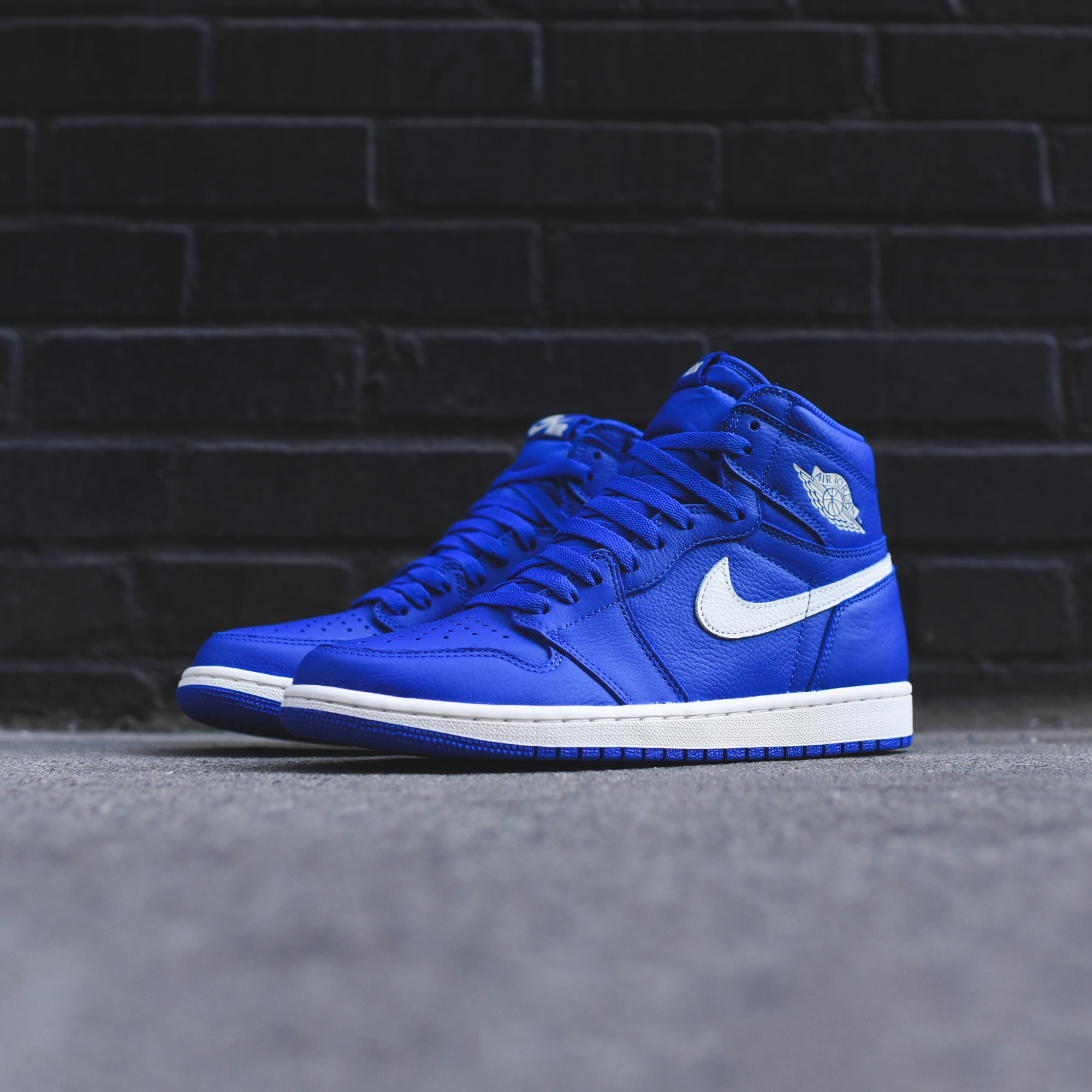 2011c9ad624ee9 Nike Air Jordan 1 - Hyper Royal   Sail – Kith