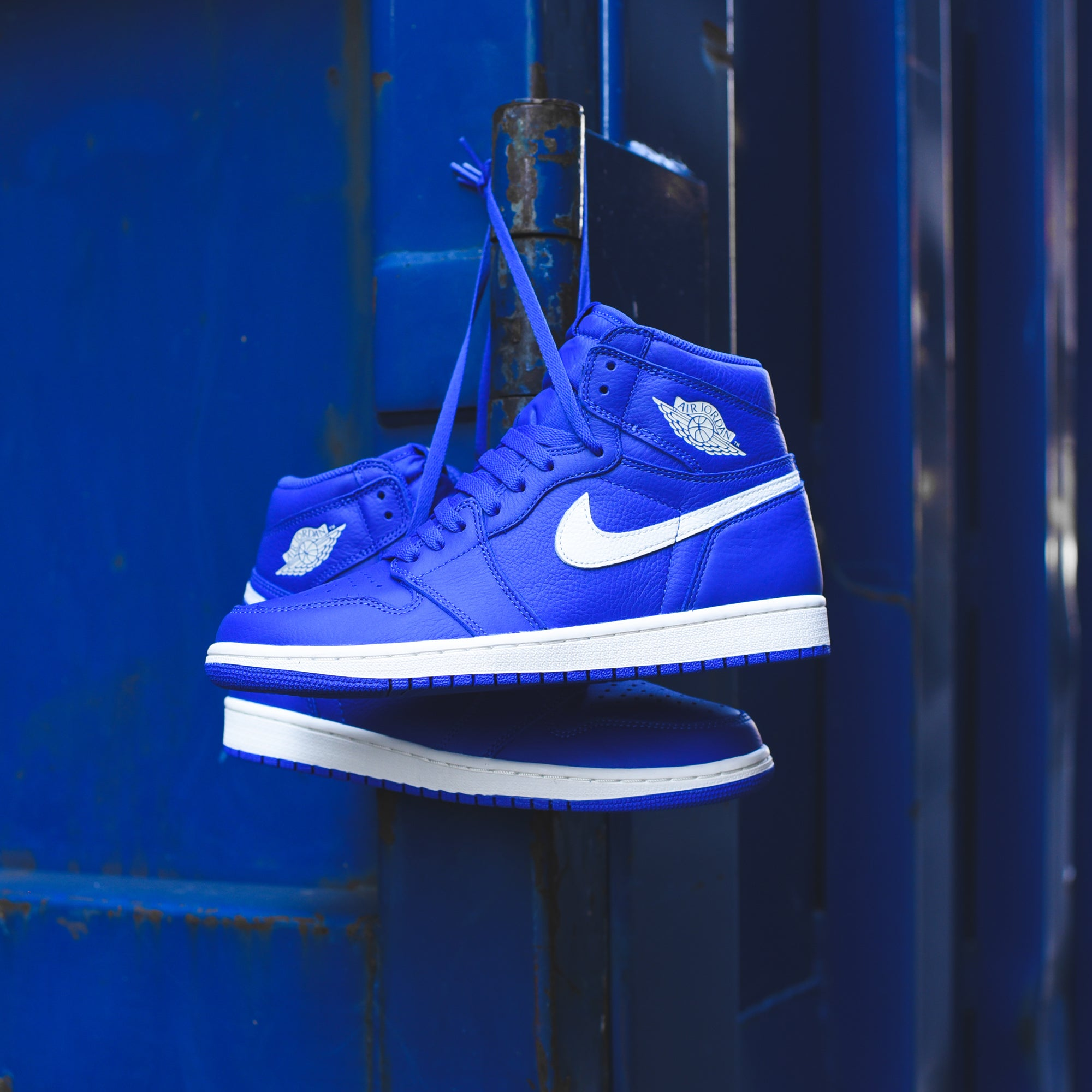 fc70bdcfbfe4a4 Nike Air Jordan 1 - Hyper Royal   Sail. July 07