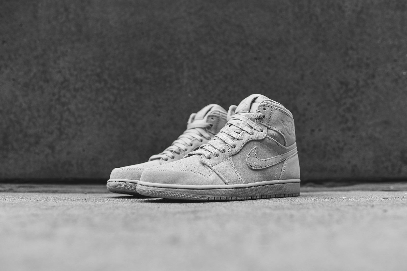 eab92c141489 1  2  3. Jordan Brand releases the Air Jordan 1 Retro High silhouette  executed in a Wolf Grey color scheme.