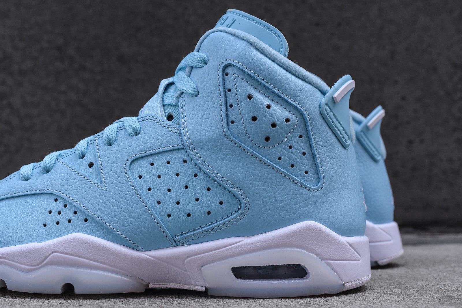 sale retailer d0226 20fa2 Nike GS Air Jordan Retro 6 - Still Blue / White – Kith