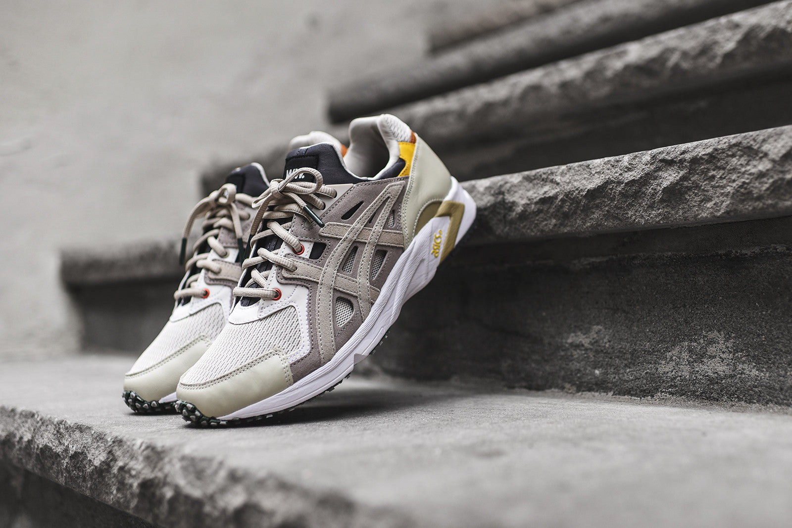 fc00381ef61b Asics x Wood Wood Gel DS Trainer - Moonrock   Feather – Kith