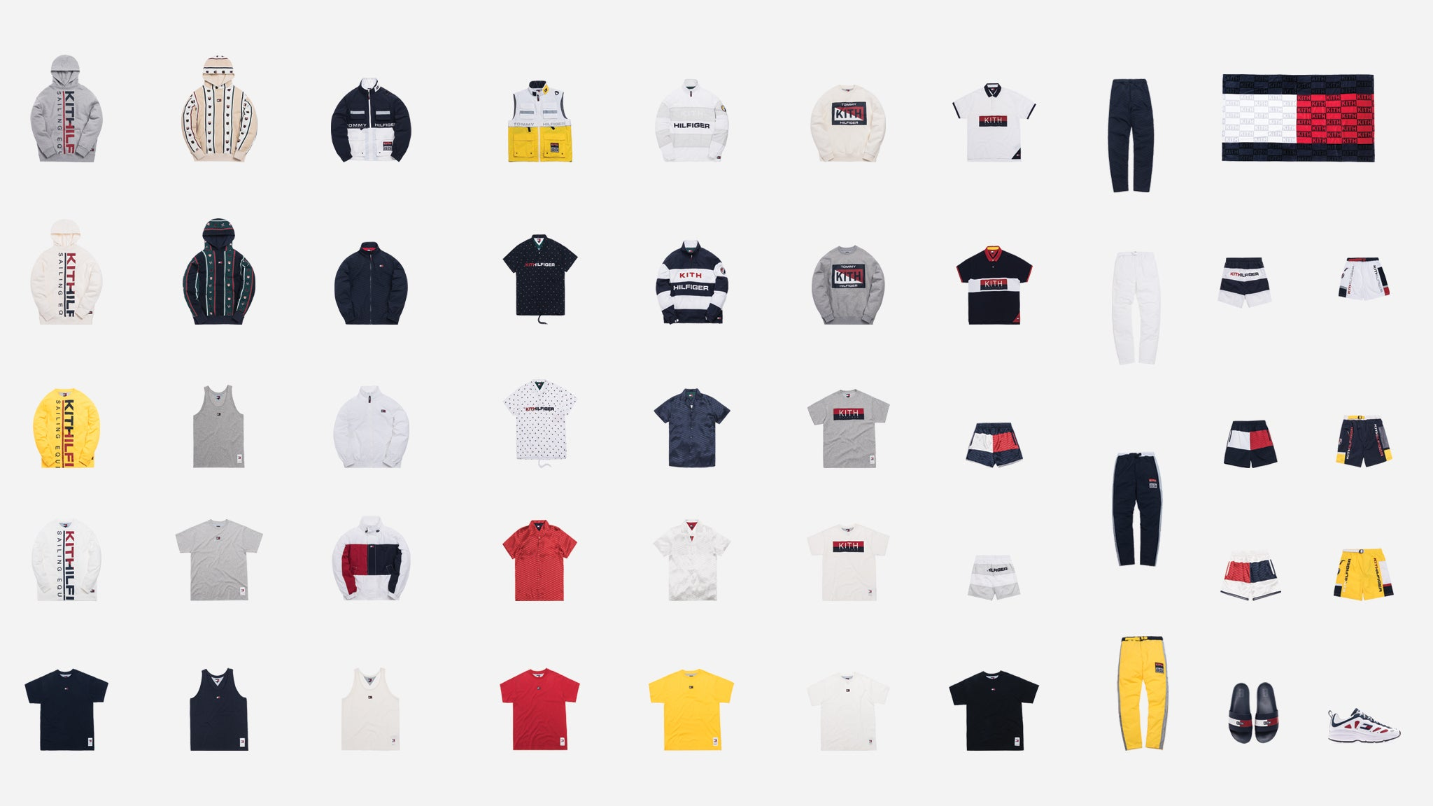493d256b A Closer Look at Kith x Tommy Hilfiger SS19