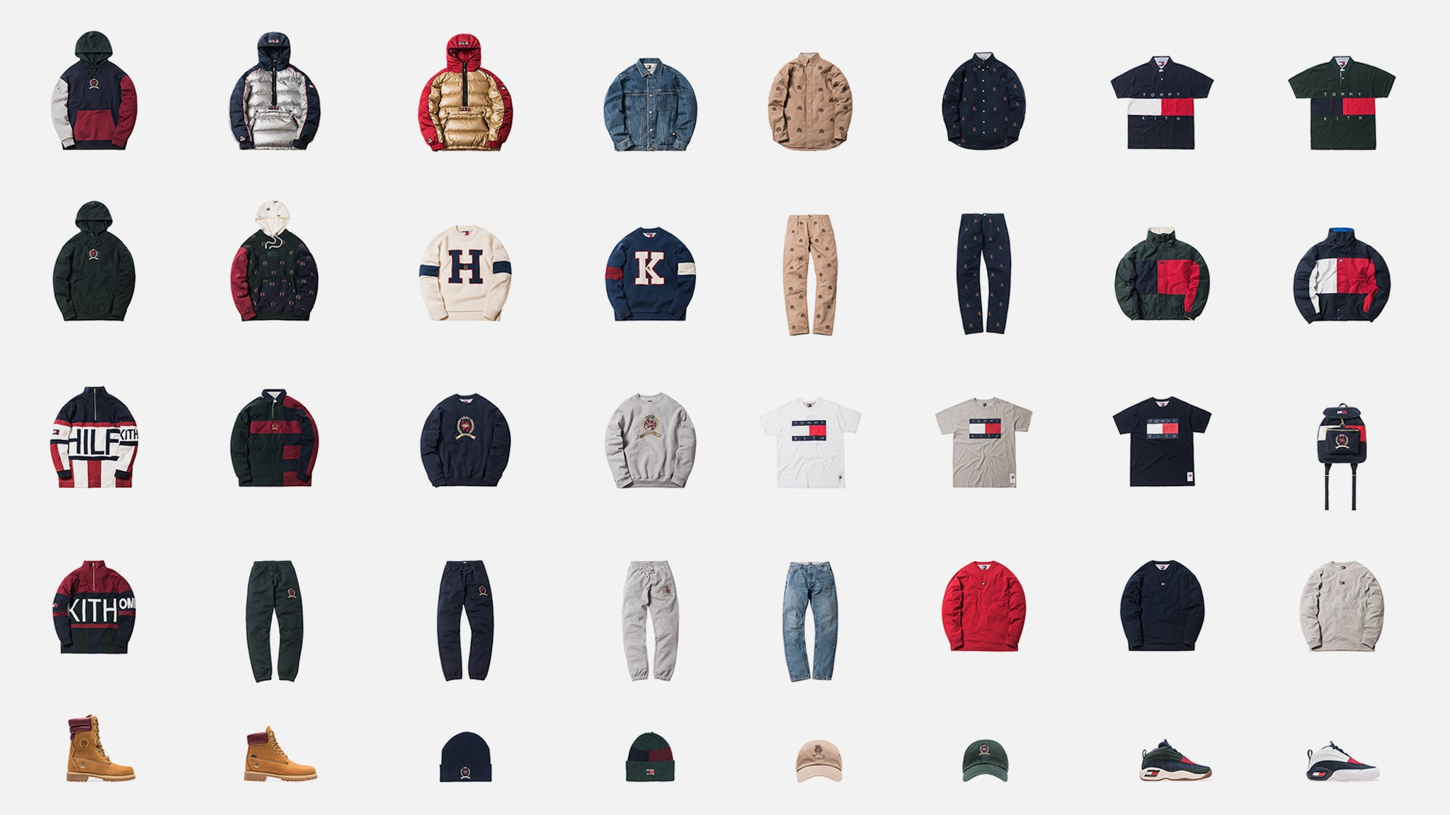 853dc1af6039b A Closer Look at the Kith x Tommy Hilfiger Collection